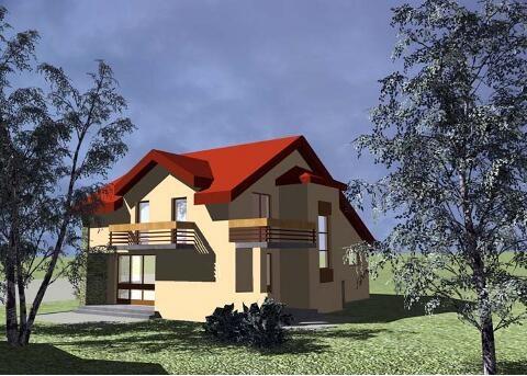 Modello casa 1 schaffler co constructii maramures for Modello di casa bungalow